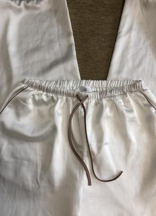 Атласные пижамные штаны missguided, новые!3 фото