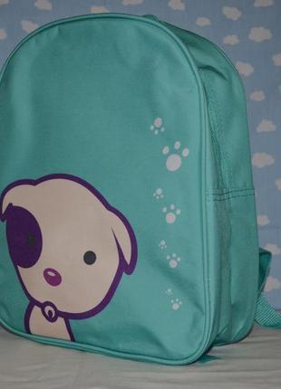 Обалденный фирменный новый рюкзак со щенком унисекс  мальчику или девочке