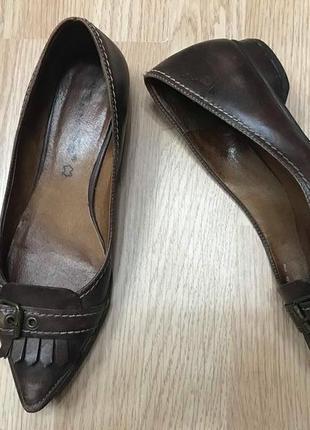 Туфли модельные лодочки винтаж