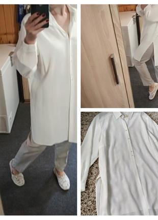 Стильная удлиненная блуза-рубашка-туника, biaggini, p. 48-50