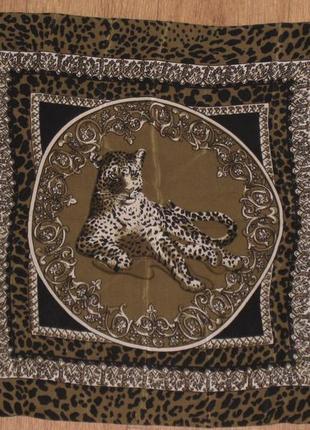 Шелковый платок шейный сумочный носовой шелковый платок