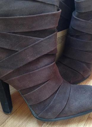 Зимние замшевые сапоги (евро зима)