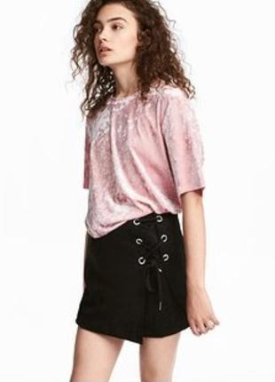 Стильная юбка на завязке от h&m