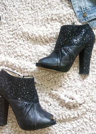 Ботиночки кожаные nine west