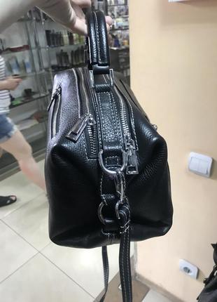 Кожаная сумка сумка кожаная через плечо кроссбоди2 фото