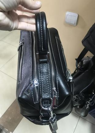 Кожаная сумка сумка кожаная через плечо кроссбоди4 фото