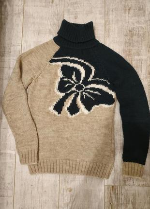 Очень теплый свитер с шерстью binka