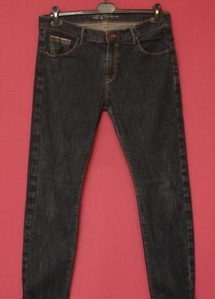 Esprit selvedge denim 30 32 узкие брюки из денима селвидж selvage