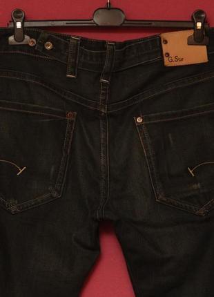 G-star 31 32 radar low loose джинсы их хлопка5 фото
