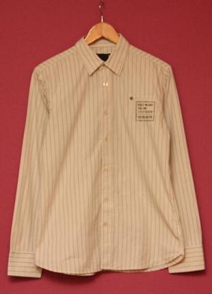 G-stаr raw рр m дизайнерская рубашка из хлопка