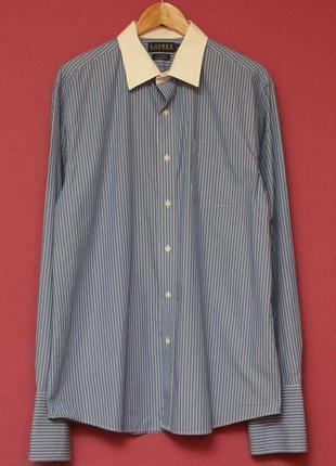 Polo ralph lauren рр xl рубашка из хлопка линейки lauren