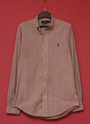 Polo ralph lauren рр s (xs бирка) рубашка из хлопка свежие коллекции