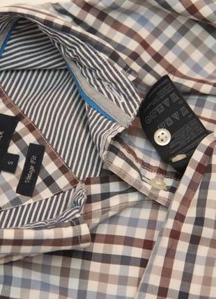 Tommy hilfiger рр m (s бирка) vintage fit рубашка из хлопка