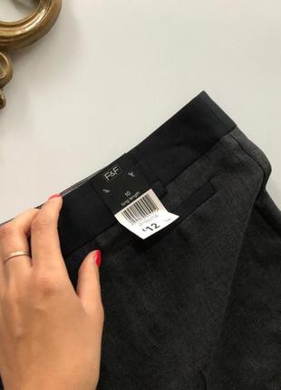 Новые брюки f&f ровного кроя рр м4 фото