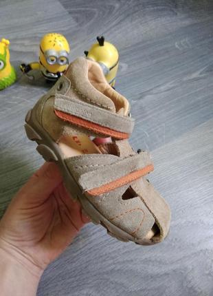 Кожа! 22р elefanten ортопедические кожанные босоножки сандалии