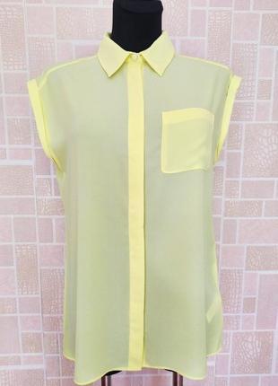 Новая блузка нежно- лимонного цвета, от бренда atmosphere.