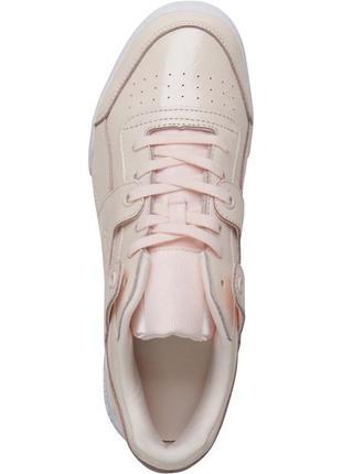 Reebok classics кожа, бледно-розовый