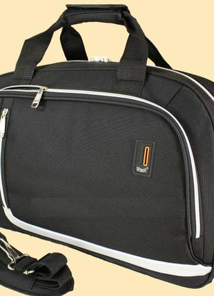 Сумка дорожная черная, сумка дорожная средняя 40 л