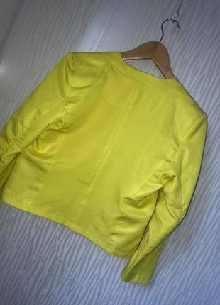 Стильный яркий жакет пиджак h&m