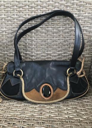 Кожаная сумка baldinini оригинал1 фото