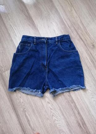 Шорты плотный джинс