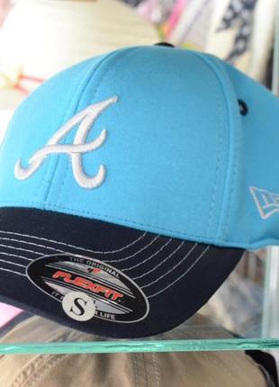 Подростковая бейсболка atlanta braves full cap