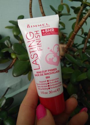Основа под макияж rimmel lasting finish primer skin perfecting праймер для макияжа