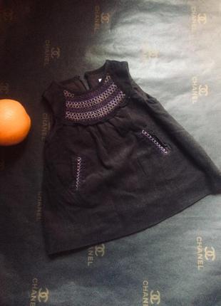 Платье/сарафан для маленькой малыши zara