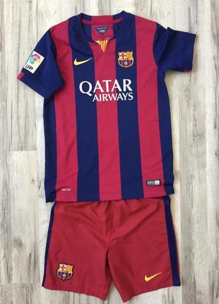 Фирменная детская футбольная форма nike fk barcelona. оригинал.