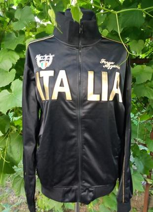Олимпийка спортивная кофта на замке italia
