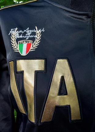 Олимпийка спортивная кофта на замке italia2 фото
