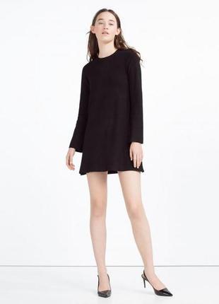 Трендовое платье свитшот