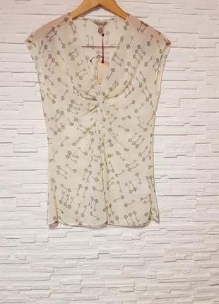 Легкая шифоновая блуза ted baker