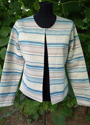 Накидка пиджак на подкладке nathalie andersen