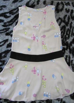 Платье с заниженной тали