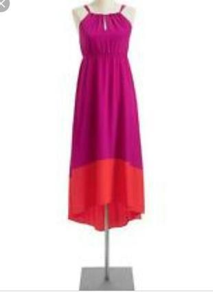Old navy платье сарафан сукня фуксия розовое