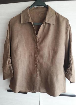 Лляна сорочка 100% льон