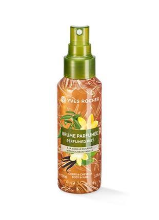 Парфюмированный спрей для тела и волос бурбонская ваниль