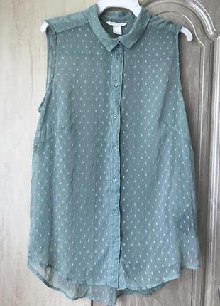 Красивая блузка от h&m размер m l xl