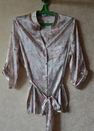 Пижама атласная /комплект для дома и сна m&s4 фото