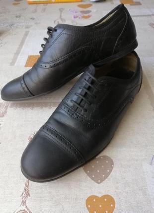 Туфли  кожаные шкіряні туфлі чоловічі оригінали zara man