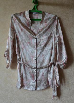 Пижама атласная /комплект для дома и сна m&s2 фото