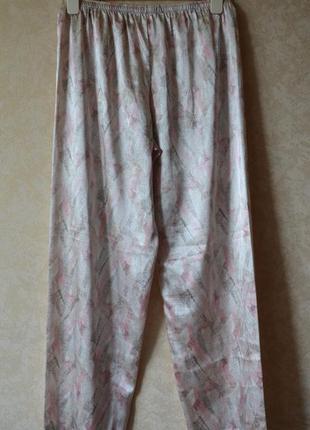 Пижама атласная /комплект для дома и сна m&s6 фото