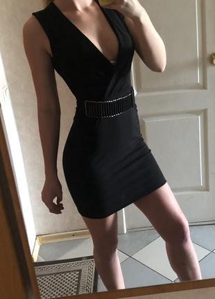 Чёрное платье 👗