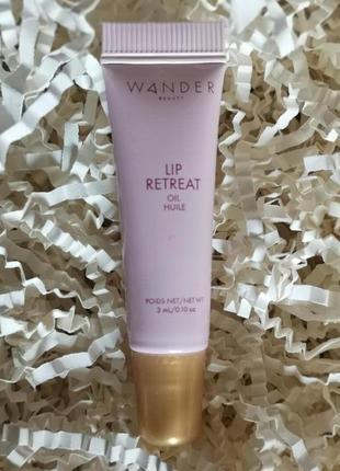 Wander beauty роскошное масло для ухода за губами с блеском , 3 мл