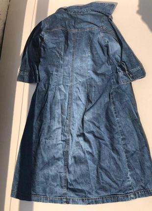 Крутое джинсовое платье h&m2 фото