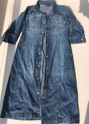 Крутое джинсовое платье h&m