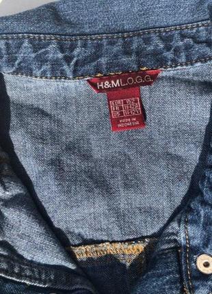 Крутое джинсовое платье h&m3 фото