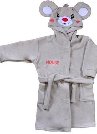 "Махровый халат ""mouse"", koala baby, 05-043"