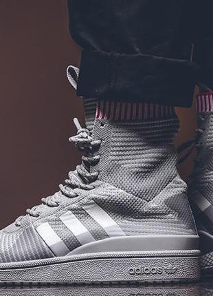 Оригинальные кроссовки adidas forum winter grey pack bz0646